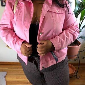 Brand New Pink Chaps Denim jacket w tags!